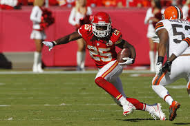 Jamaal Charles is a touchdown machine and looks set to flourish in an improved Kansas City offence.