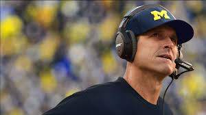 Harbaugh's Michigan coaching debut didn't go as planned.