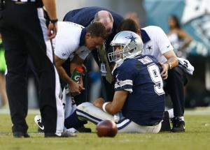 Tony Romo was among numerous key injuries to arise from week two.